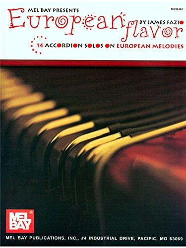 European Flavor (Accordion Solos). Partitions pour Accordéon
