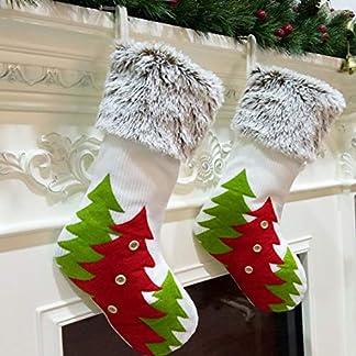 XONOR 2 Unidades de Calcetines de Navidad
