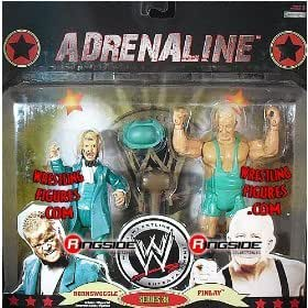 Heo - Double Figurines Catch Adrenaline Serie 38 Finlay & Hornswoggle  18 CM