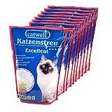 Silikat Katzenstreu von Catwell im Sparpack (10 x 5L), Granulat und 100% biologisch thumbnail