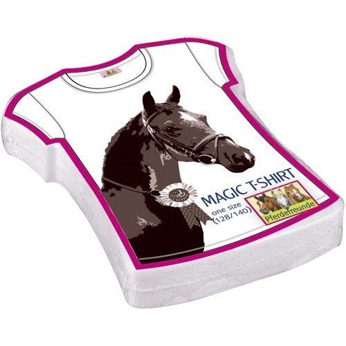 Preisvergleich Produktbild Spiegelburg 93508 Magic T-Shirt Pferdefreunde,  one size (128 / 140)