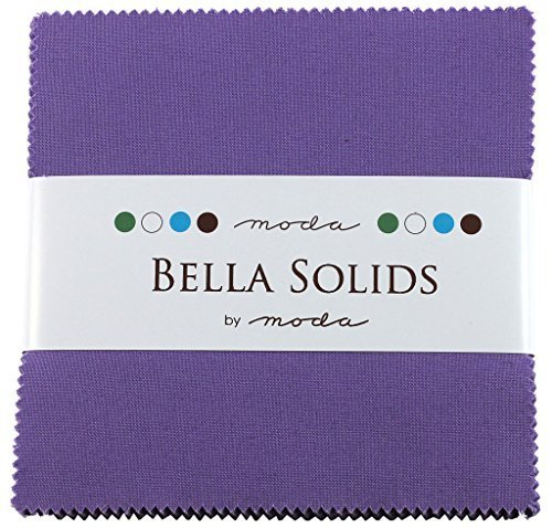 Bella Feststoffe Blüten Charm Pack 42Squares 12,7cm Moda Stoffe 9900pp 93von Moda Stoffe -