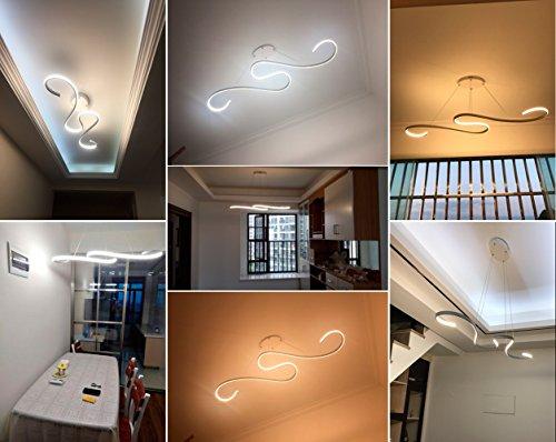Plafoniere Per Ufficio A Led : Lampadario moderni led zz joakoah lampada a sospensione moderna