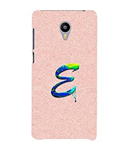 YuBingo Meizu M3 Note :: Meizu Note 3 Designer Phone Back Case Cover ( Monogram with Beautifully Written Paint Finish letter E )