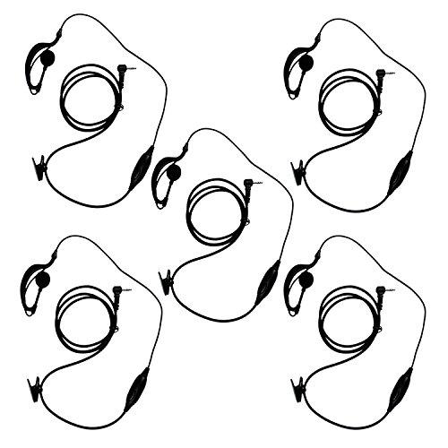 Características del producto:  Escuchar y hablar auricular con PTT y en la línea para una fácil operación micrófono oculto en el interior botón PTT Soft oído-suspensión que se ajustan cómodamente cuando se lleva Ajustarse tanto la oreja izquierda o d...