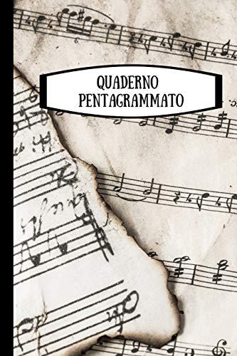 Quaderno pentagrammato: quaderno di musica