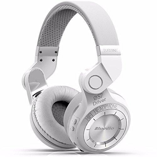 Cyond Bluetooth 5.0 Headset, Stereo-HiFi-Sound, tragbares faltbares Wireless-Headset für Sport, Laufen, Yoga-Kopfhörer (Weiß)