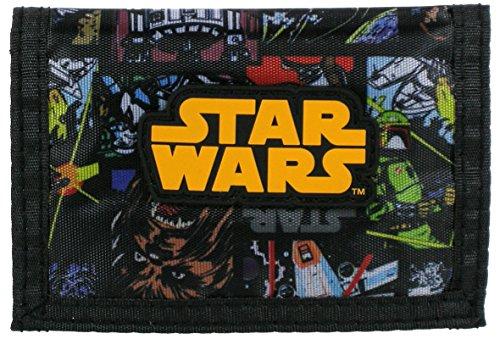 Maxi & Mini, Portafoglio, portamonete, multi tasche motivo: Star Wars, idea regalo