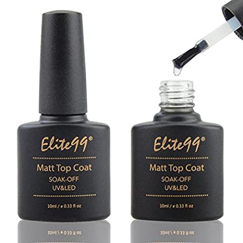 Elite99 Matte Top Coat UV LED Soak Off Gel Nail