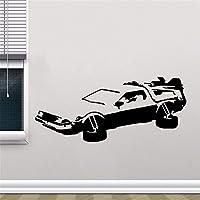 pegatinas de pared HotMeiNi Car Jdm Styling Window Bumper Body Delorean Regreso al futuro Marty Mcfly