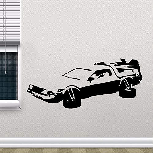 (wandaufkleber HotMeiNi Car Jdm Styling Fenster Stoßfänger LKW Körper Delorean Zurück In Die Zukunft Marty Mcfly Doc Brown Decor)