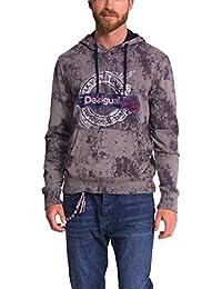 Desigual Elias - Sweat-shirt - À capuche - Manches longues - Homme
