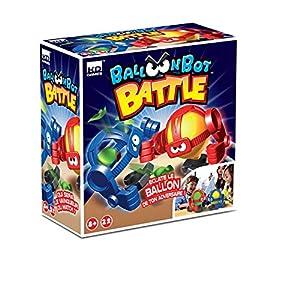 kd games-Balloon Bot Battle Juegos de Tablero, s17630, Sujetadores