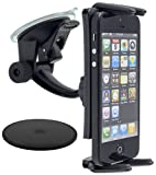 Arkon SM614 Car passives Holder Black Holder – Holders (Mobile Phone/Smartphone, tablette/UMPC, car, passives Holder, Black, Suction Cup, iPhone 6S Plus, Galaxy 7.0 8.0 Tablets)