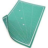 PRETEX Base de Corte Tabla de Corte, 45 x 30 cm (A3) en Verde con Superficie autoreparativa, autocurativa | Cutting Mat, Tabla de Cortar