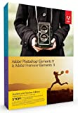 Adobe Photoshop Elements 11 + Premiere Elements 11 - Student and Teacher edition [import anglais]