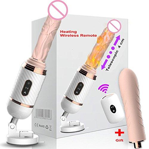SEXYZ Sexmaschine Sex Maschine Toys4 Frauen Tragbar Automatic Retractable Dildo Sexy Spielzeug Weibliche Erwachsene Maschinen Für Frauen Medizinische Silikon DIBEI