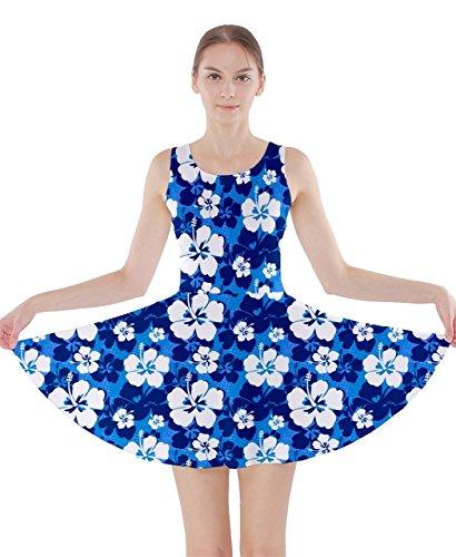 CowCow - Robe - Femme Bleu Bleu Bleu - Bleu