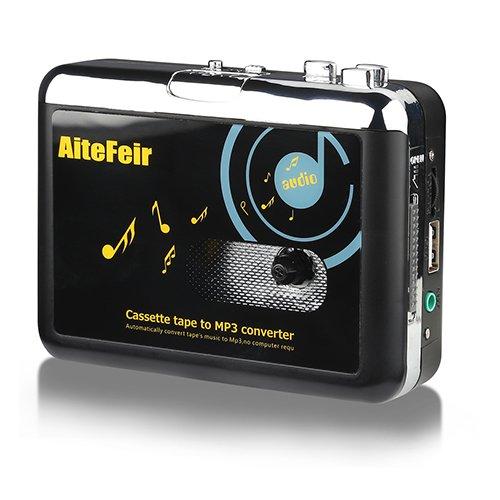 MP3 Konvertierer Ohne PC Kassetten Digitalisieren Konverter Tragbar USB Kassette KassttesSpieler Digital Konverter und Player zu MP3 Player Converter Durch USB Laufwerke ()