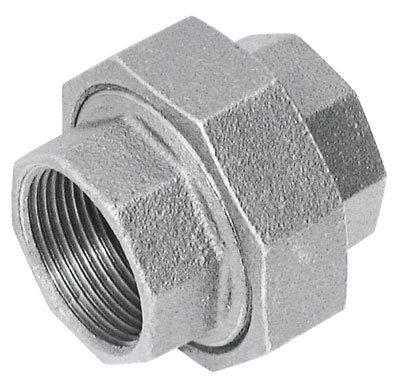 CRANE (7.62 cm BSPT FEM UNION gleich FIG256 verzinkt, 1000 g, verzinkt, BSPT (Temperguss Rohrverbindungsstücke) (Fem-union)
