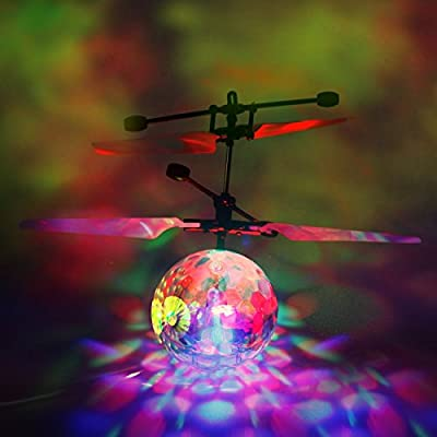 Flying Ball, RC Flying Toys Infrared Induction Helicopter Drone with Flashing LED Light for Kids Teenagers, Gifts for Boys and Girls, Indoor and Outdoor Games