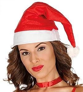 Guirca Gorro Papa Noel adulto Color rojo talla única 90133.0