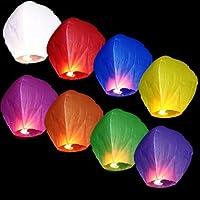 Lot de 70 Lanternes celestes volantes multicolores. Vous aimez les soirées romantiques et vous êtes amateurs d'instants magiques... Alors découvrez nos lanternes volantes. Les lanternes volantes SkyLanterns (encore appelées lanternes célestes ou lant...