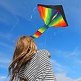 Die besten Verkauf von Erinnerungen - Riesige Rainbow Kite für Kinder–Einer der besten Verkauf Bewertungen