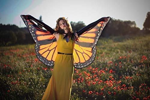Monarch Schmetterling Kostüm Flügel - Schmetterlingsflügel Monarch Cape Mantel Flügel Kostüm