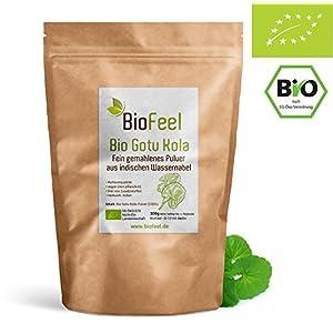 BioFeel – Bio Gotu Kola Pulver, 300g – Indischer Wassernabel