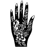 Just Fox–Henna Tattoo Plantilla para la izquierda o mano derecha