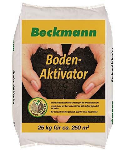 Beckmann Boden Aktivator 25 kg für ca. 250 m² Bodenverbesserer + Gratiszugabe 20g Kressesamen Sprint
