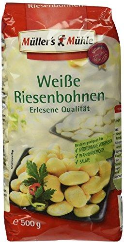 Müller´s Mühle Weiße Riesenbohnen, 7er Pack (7 x 500 g)