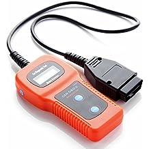 SATKIT Escáner para diagnosis multimarca/Lector de códigos de error U480 CAN-Bus OBDII, OBD2, EOBD