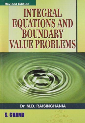 Integratal Equation & Boundary Value Problems por Bassi Sushil