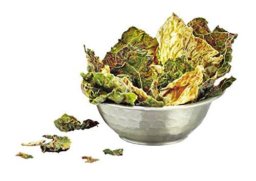 Heimatgut Wirsingchips Italian Herb ( 4 x 35g ) - natürliche Chips aus luftgetrocknetem Wirsing. Veganer und glutenfreier Snack ohne künstliche Zusatzstoffe. - 4