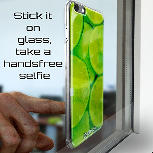 Skino™ Custodia Skin 3D Anti-Gravità Case Cover Hands-Free Selfie Resina Gel Ultra Sottile Antiurto per iPhone 5 / 5s / 5 SE / 6/6 Plus / 6s / 6s Plus / 7/7 Plus Anti-Scratch Slim Protezione al 100% d AP-10