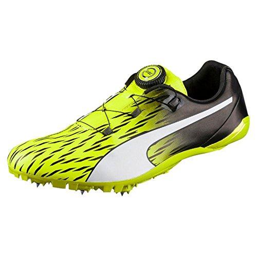 Puma Unisex-Erwachsene Evospeed Disc 3 Outdoor Fitnessschuhe Safety Yellow-Puma Black-Puma White