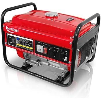 berlan benzin stromerzeuger bste3000 2800 watt amazon. Black Bedroom Furniture Sets. Home Design Ideas