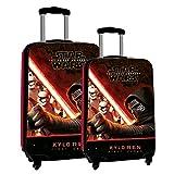 Disney Star Wars Set di Valigie, ABS, Nero, 67 cm