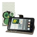 kwmobile Huawei Ascend Y530 Hülle - Kunstleder Wallet Case für Huawei Ascend Y530 mit Kartenfächern & Stand