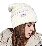 Aniwon Uncinetto Cappellino Cappelli di Lana Berretto Invernali per Signora Uomo Donna