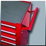 Einhell Werkstattwagen TC-TW 100 (max. 75 kg, 4 leichtgängige Schubladen, 4 drehbare Rollen) -