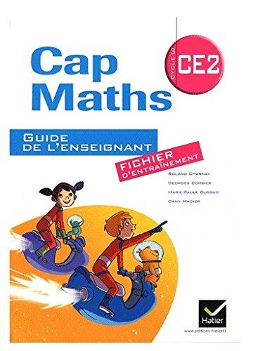 Cap Maths CE2 éd. 2011 - Guide de l'enseignant version fichier + Cahier de Géométrie-Mesure
