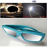 Espeedy Visión plástica de los vidrios solares del eclipse de la manera 1/3/5 / 10Pcs protege los ojos El CE certificó el vidrio de Sun de la observación de los eclipses