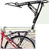 Portapacchi posteriore per bicicletta sportiva, portata 50 kg, freno a disco/V Ventura, da montare con viti, in alluminio, adatto per 24 '/26'/28