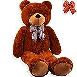 KIDIZ® 2m riesen Teddybär – Dunkelbraun - 2