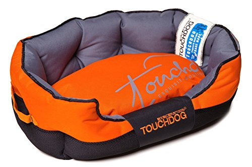 toughdog-performance-max-sporty-comfort-cushioned-dog-bed-sunkist-orange-black-md