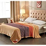 ShopyBucket Ultra Soft Multi Use Super Soft 2 Side Raising AC Blanket Double Bed Jute Size 200 × 230 Cms With Bag