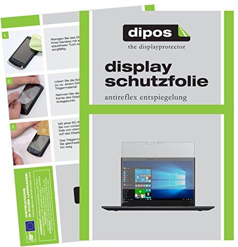 dipos I 2X Schutzfolie matt passend für Lenovo ThinkPad T570 Folie Bildschirmschutzfolie